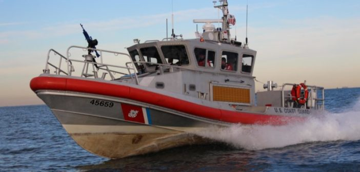 A Coast Guard 45' Response Boat Medium. Coast Guard photo.