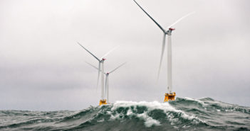 urbines at the Deepwater Wind array off Block Island, R.I. Department of Energy photo.