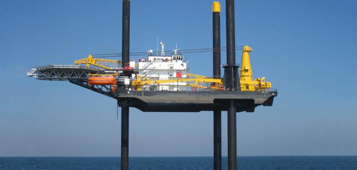Montco's liftboat Jill, a 335'-class self-elevating vessel built in 2014.
