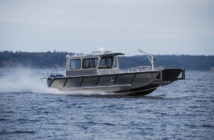 New 31'x10' fire/rescue boat for South Carolina. Stanley Aluminum Boats photo