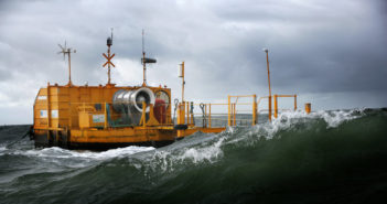 The wave energy converter will be located at the Navy's Wave Energy Test Site in Hawaii. Vigor photo