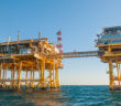 The LOOP deepwater terminal in the Gulf of Mexico. LOOP photo.