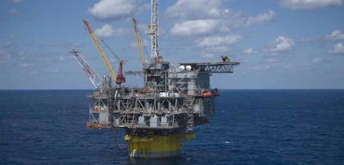Shell's Perdido deepwater platform. Photo courtesy of Royal Dutch Shell