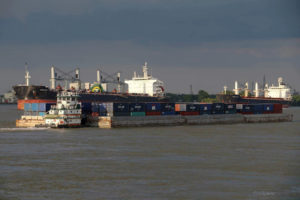 Boxed In: Container-on-barge services fight to fit into the