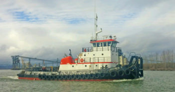 The refurbished tug will go to work for the Corps of Engineers among others. Cummins photo