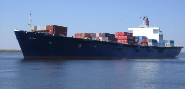 The 791' El Faro. TOTE Services photo