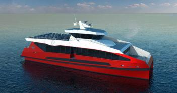 New 150-passenger design available from Metal Shark. Metal Shark rendering