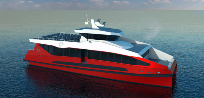 New 150-passenger design available from Metal Shark. Metal Shark rendering
