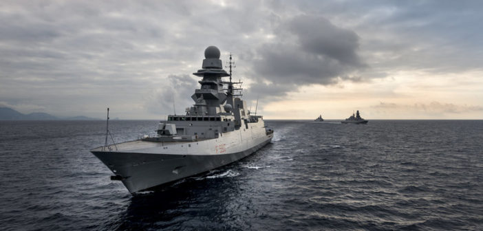 FREMM frigate in service with the Italian Navy. Fincantieri photo