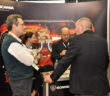 Scania was one of the engine companies that had a booth at the convention. PVA photo
