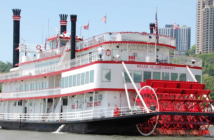 The Belle of Cincinnati. Photo courtesy of BB Riverboats