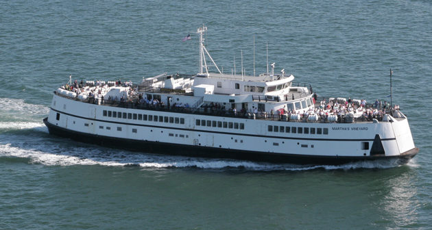 The ferry Martha's Vineyard before her recent refit. Steamship Authority photo.