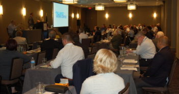 Barge industry conference raises a number of issues in New Orleans. Ken Hocke photo