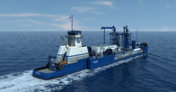The new LNG ATB will be the first of its kind in the U.S. VT Halter rendering