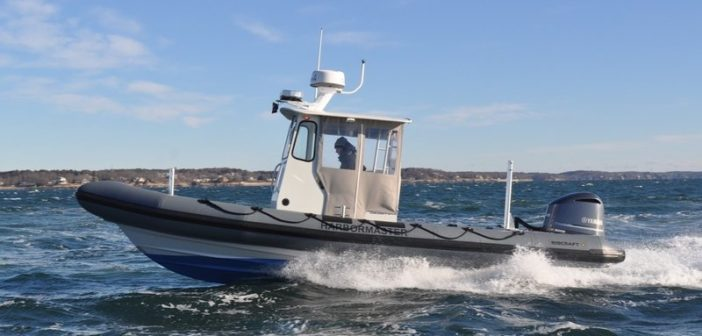 New 25' RIB patrol boat for Edgartown, Mass. Ribcraft photo