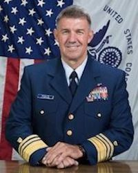 Vice Adm. Karl L. Schultz. Coast Guard photo