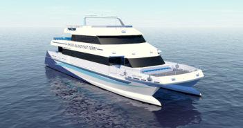 New ferry for Rhode Island. Gladding-Hearn rendering