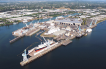 Vigor's 60-acre Swan Island shipyard in Portland, Ore. Vigor photo