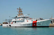 The Nathan Bruckenthal is the 28th fast response cutter that Bollinger has delivered to the Coast Guard. Bollinger Shipyards photo