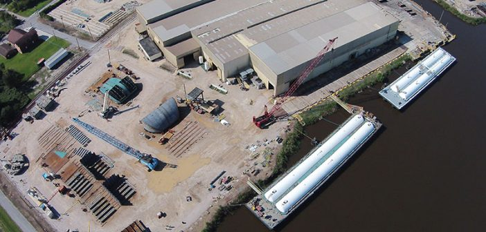 Conrad Industries has shipyards in both Louisiana and Texas. Conrad Industries photo