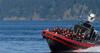 New whale watcher is working the waters around San Juan Islands in Washington state. Life Proof Boats photo