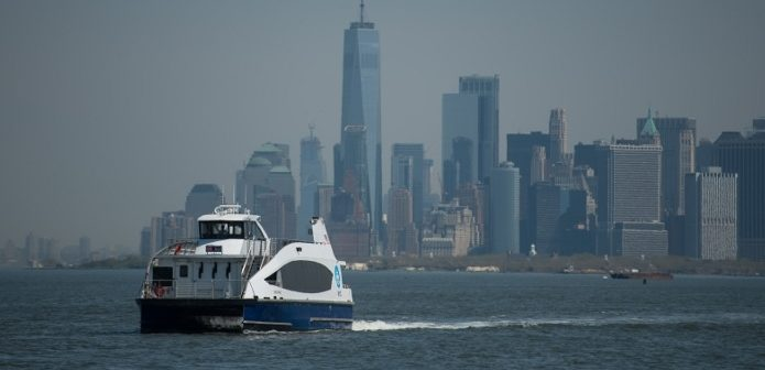 NYC Ferry will double its capacity by 2023 to serve an anticipated 9 million riders annually, said Mayor Bill de Blasio. Michael Appleton/Mayoral Photography Office.