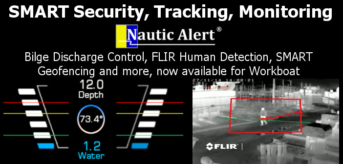 Nautic Alert X2 Early Detection Monitoring, Security, and Tracking System for Situational Awareness and Compliance Reporting