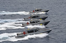 New patrol boats will be the Dutch Caribbean Coast Guard's main interceptors. Metal Shark photo