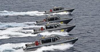 New patrol boats will be the Dutch Caribbean Coast Guard's main interceptors. Metal Shark photo