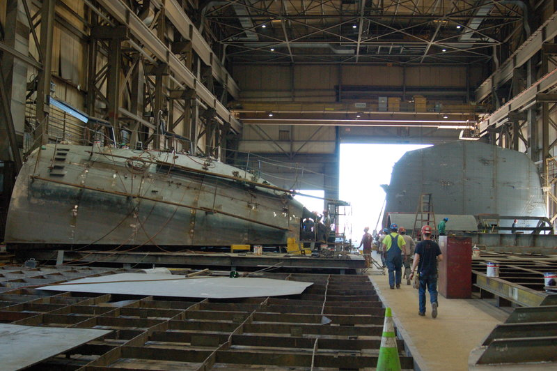 Shipyard owners and operators may have more money available through grant program next year. Ken Hocke photo