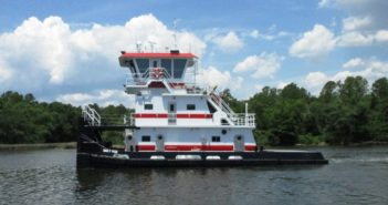 Third of four towboats for Waterfront Services from boatyard Master Marine. Master Marine photo