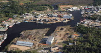 Metal Shark now owns a 35-acre shipbuilding facility in the Mobile Bay area. Metal Shark photo