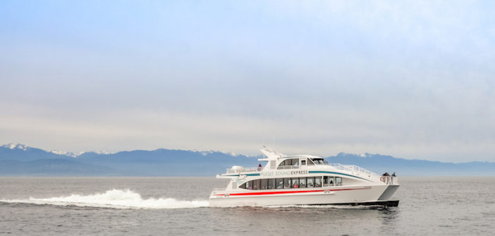 New aluminum, catamaran whale watching vessel is operating in the state of Washington. All American Marine photo