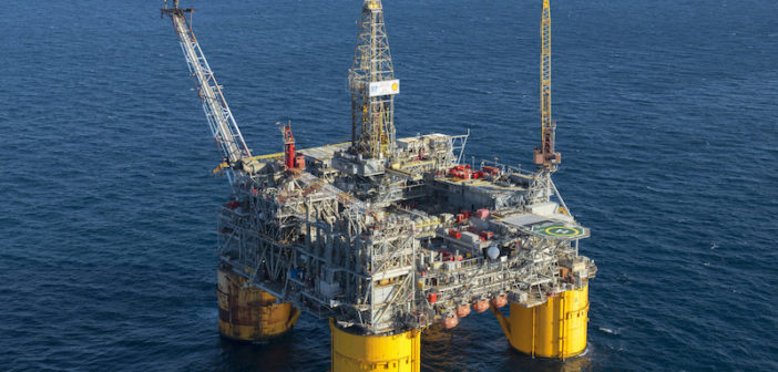 The Kaikias subsea development sends production from its four wells to the Ursa hub in the U.S. Gulf of Mexico. Shell photo