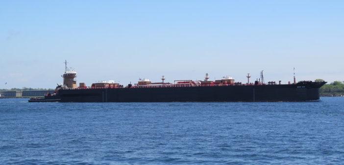 New articulated tug barge unit for Reinauer Transportation from Senesco Marine. Senesco Marine photo