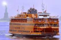 The Staten Island Ferry Guy V. Molinari. Staten Island Ferry photo.