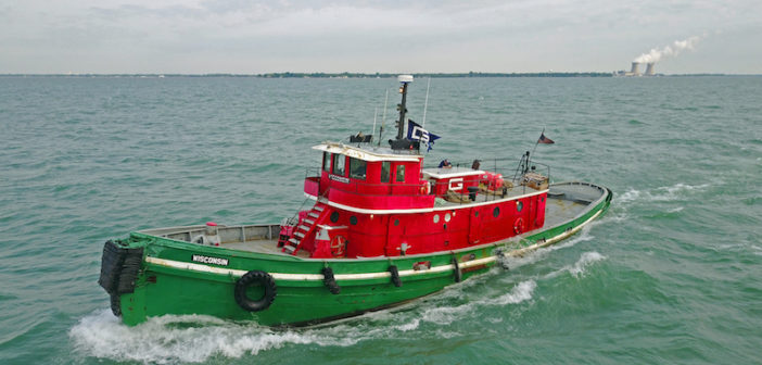 The 83' tug Wisconsin. Great Lakes Towing photo