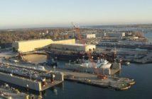 Fincantieri Bay Shipbuilding in Sturgeon Bay, Wis. Fincantieri photo