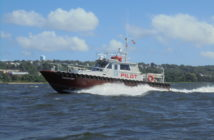 St. Johns-class pilot boat for the Associated Branch Pilots at Southwest Pass on the Mississippi River. Gladding-Hearn Shipbuilding photo