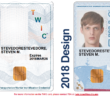 The Transportation Security Administration has updated the design of the Transportation Worker Identification Credential. TSA image.