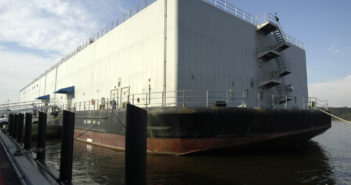 New berthing barges for the Navy are scheduled for delivery by third quarter 2020. U.S. Navy photo