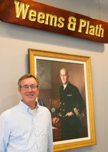 Michael Flanagan is the new president and owner of Weems & Plath. Photo courtesy Weems & Plath.