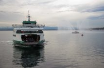 Washington State Ferries vessel Wenatchee is one of three ferries expected to undergo transition to hydro-electric power. WSF photo