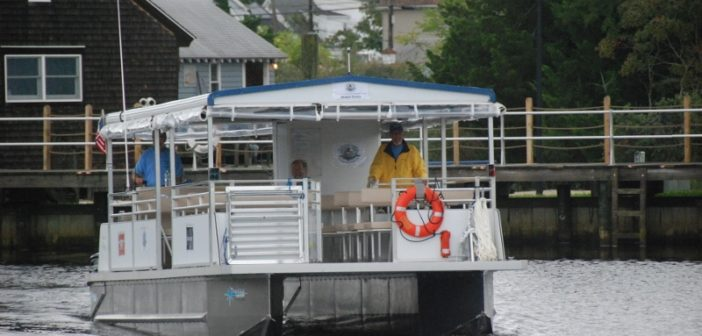 The Pohatcong II will provide ferry service between Tuckerton and Beach Haven on the New Jersey shore. Kirk Moore photo.