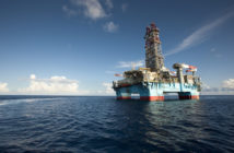 Onboard the Maersk Developer, operating the Hadrian-5 well for ExxonMobil about 200 miles offshore in the Gulf of Mexico in July 2011. Robert Seale photo