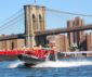 A run around the city with New York Media Boat
