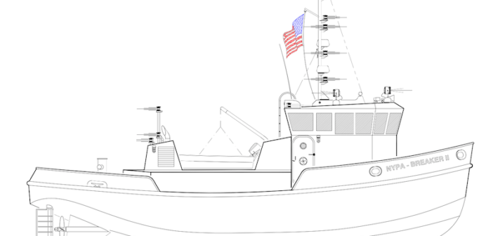 Rendering courtesy of Blount Boats