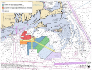 The Responsible Offshore Development Alliance is seeking to finalize a fishing industry consensus on traffic lanes. RODA image.