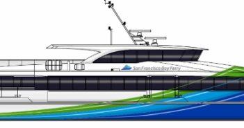 Mavrik Marine will build a 300-passenger high speed vessel for the San Francisco Bay Ferry system. WETA image.