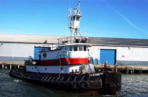 The Weeks Marine tug Elizabeth. Weeks Marine photo.